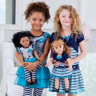 Mi muñeca y yo! por solo $34.99    Adoramos Dollie & Me, y se han convertido rápidamente en un favorito de los clientes zulily también. Estos conjuntos de adorables para las niñas vienen con un bono : un traje idéntico para la muñeca favorita de su niña. Eso es dos veces más agradable! Los conjuntos coincidentes de Dollie & Me fomentar el aprendizaje, el intercambio y la imaginación a través del juego inteligente