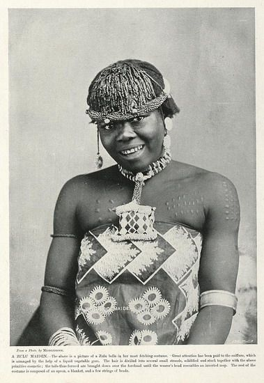 A Zulu Maiden   South Africa by The National Archives UK