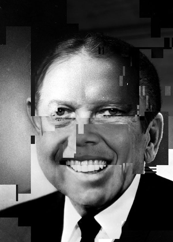 Presidential Glitches: Portrait Collages Through Time