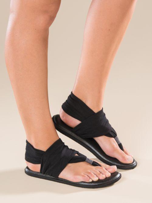 Sanuk Yoga Sling Sandals   Sanuk sandals, Yoga shoes