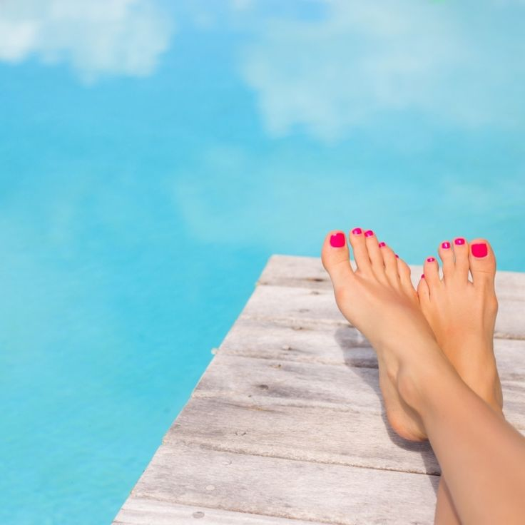 Pies suaves y lindos para las vacaciones - Vanitip.com