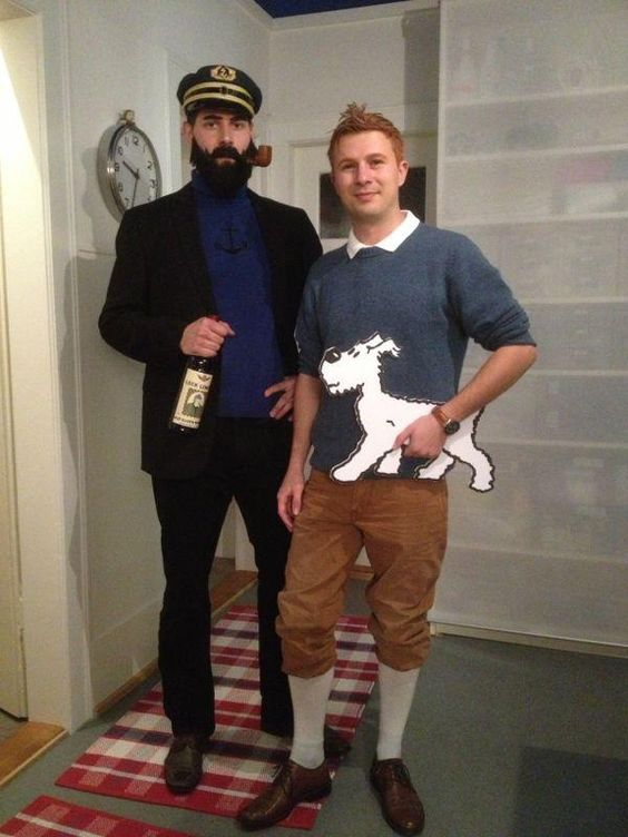 Tim und Struppi Kostüm selber machen