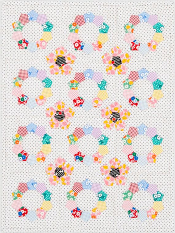 Patchwork With Busyfingers By SUE DALEY  EPP Ringlets Wall