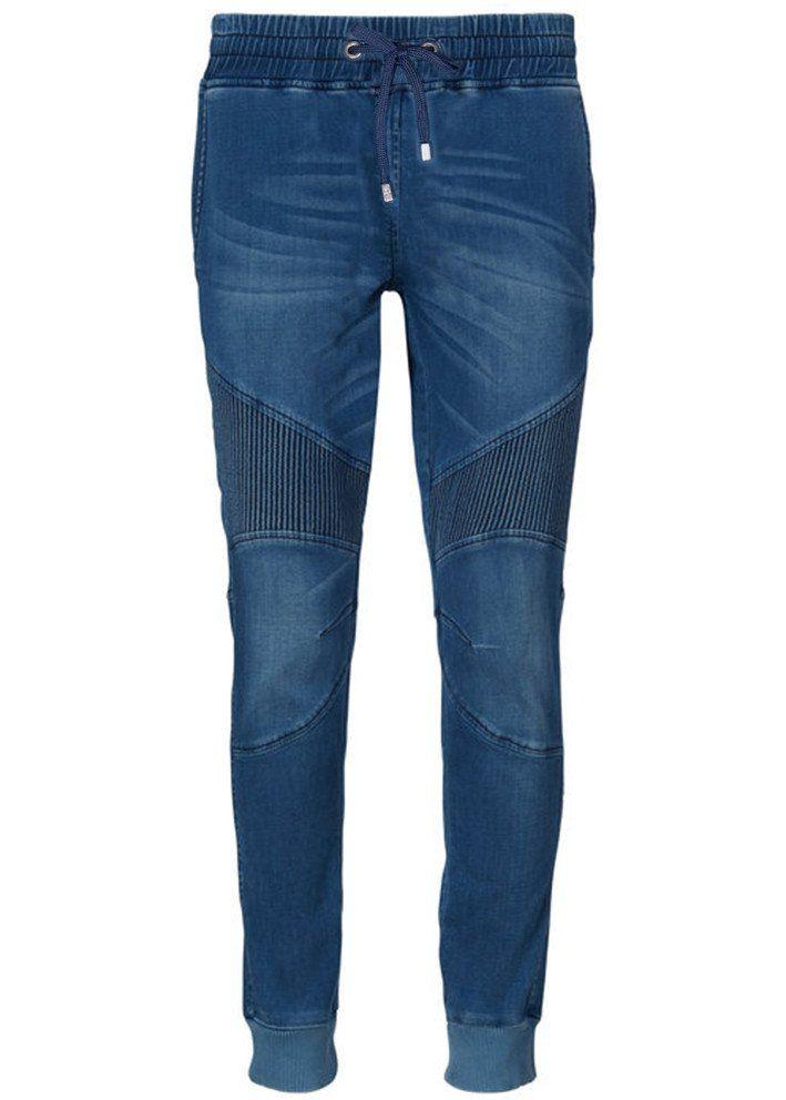 Jeans blå 22024 Casual Stretch Denim - 925 water mirror