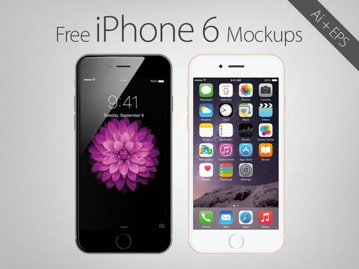 20 Fresh #iPhone6 Mockup #Design #Templates