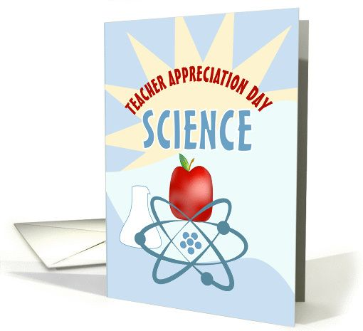 Top 12 Greeting Cards for Teacher Appreciation Week - remember all your teachers ... spanish, science, math, PE and more! #anycardimaginable