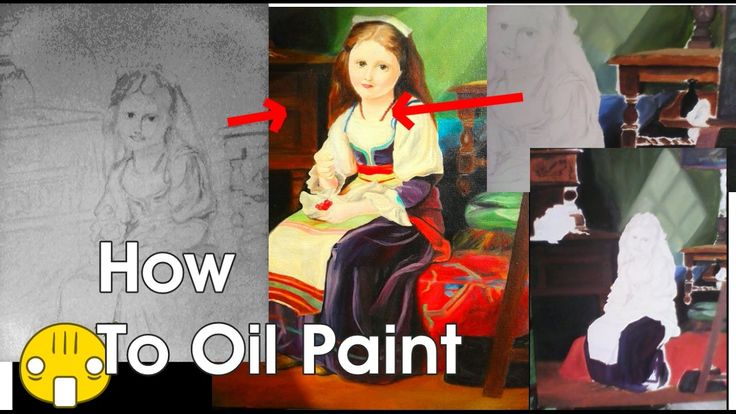 Childhood Of Monalisa: Oil Painting Tutorial By Sabir Alam