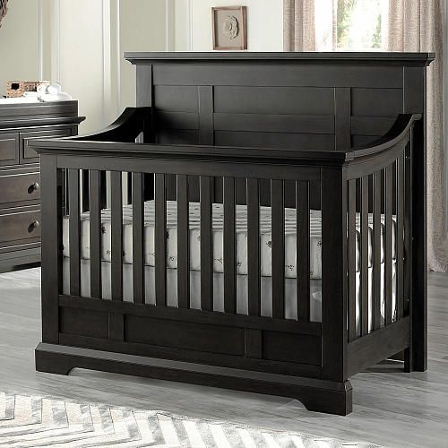 Stunning Oxford Baby Dallas in Convertible Crib Slate Oxford Baby Babies