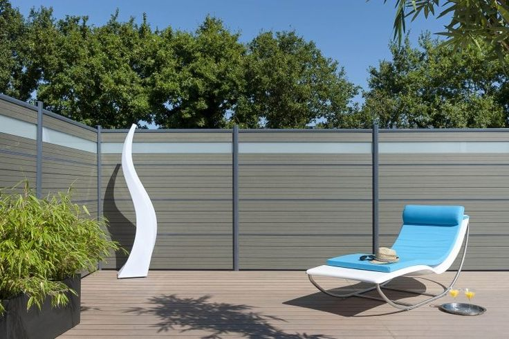 17 Best images about cloture on Pinterest  Villas, Modern fence ...