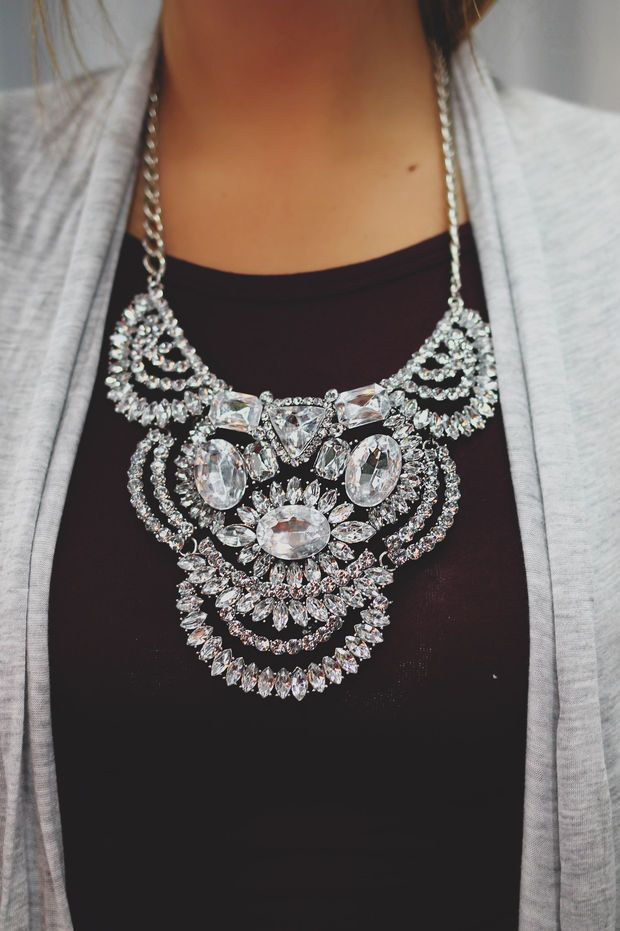 Whole Lot of Bling Necklace