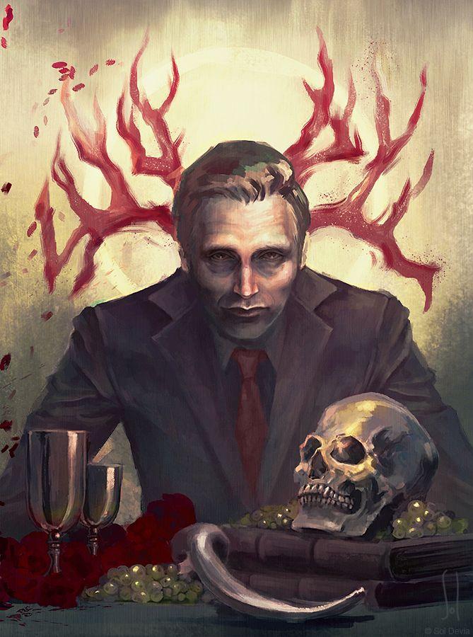 Hannibal Lecter by SolDevia.deviantart.com on @DeviantArt