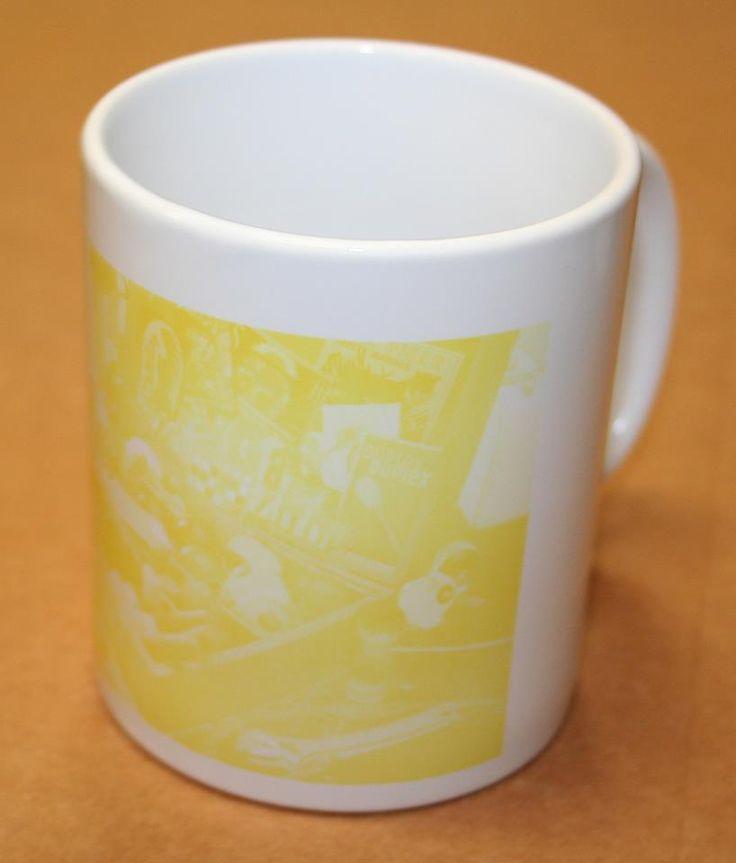 yellowish shading on sublimation mugs
