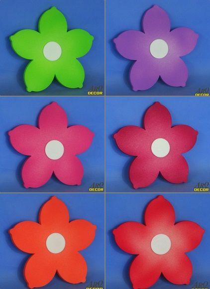 Pracownia Dekoracji ARQ - DECOR - Zestaw Kwiatów (Lilia) - 6 Sztuk ! Kwiaty, Dekoracje Do Przedszkola,Pokój Dziecięcy