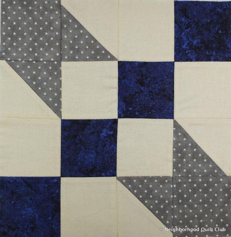 Neighborhood Quilt Club: Road to Oklahoma – Quilt Block Tutorial