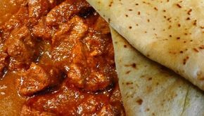 Surinaams eten – Surinaamse Roti met lamsvlees