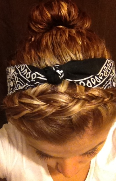 hip hop hair style braid w bandana me braids bandanas and 7788