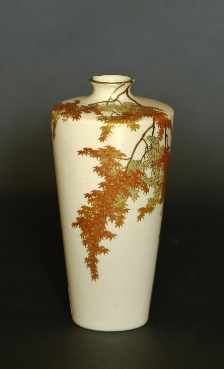 33 best korean traditional ceramics images on pinterest ceramic satsuma vase with momiji detail japanesedecorativeart japaneseceramics reviewsmspy