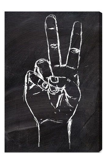 Oliver Gal 'Peace Out' Wall Art available at #Nordstrom
