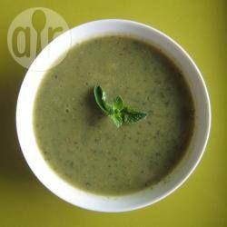 Zucchini Soup - Asian Style