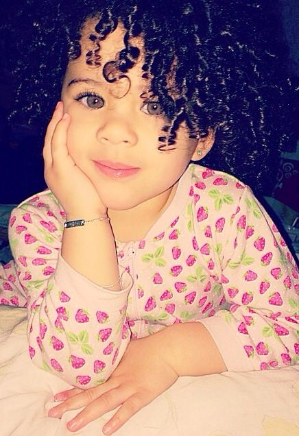 One of the cutest little girls I have ever seen, Can I just have her eyes and…