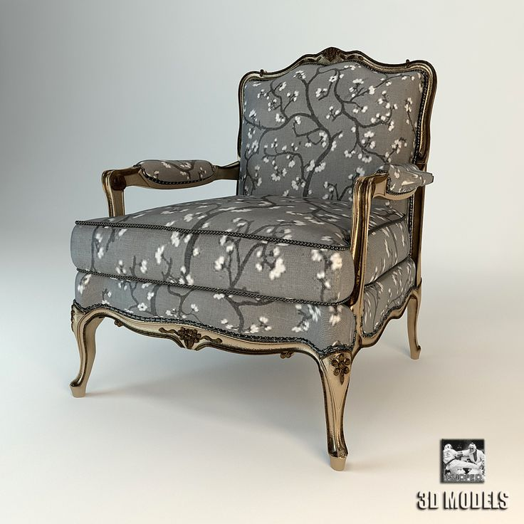 3D Model Armchair Zanaboni Chair   3D Model