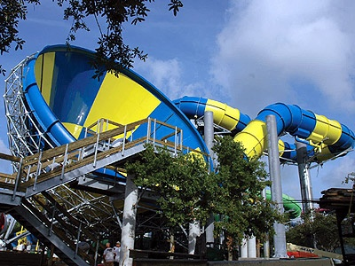 Rapids Water Park - West Palm Beach, FL. Lots of fun for the younger and older kids. A well-run and clean water park.