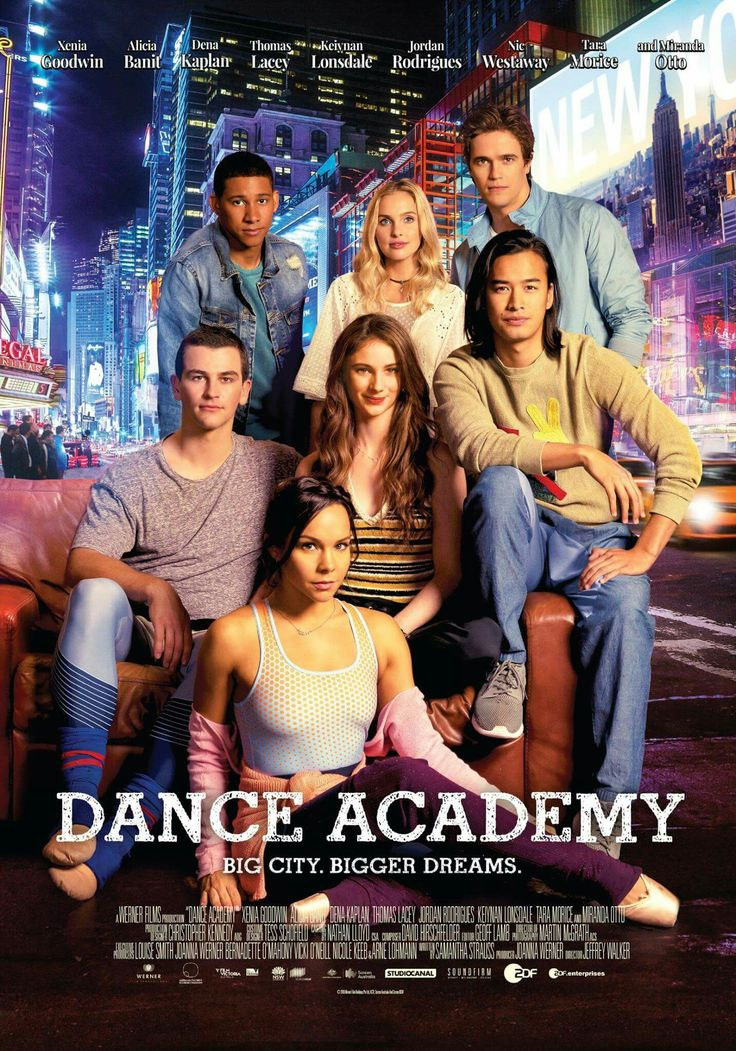 Dance Academy movie poster
