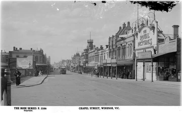 Chapel St,Windsor,Victoria (year unknown).A♥W