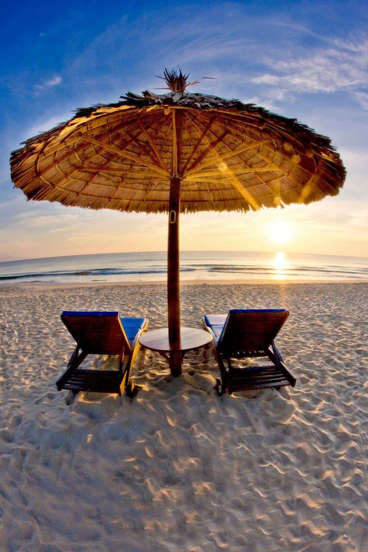 Tranquility awaits at Centara Sandy Beach Resort, Danang, Vietnam  #danang #vietnam #beach #travel