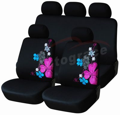 hawaiian car seat covers hawaii flower car seat cover. Black Bedroom Furniture Sets. Home Design Ideas