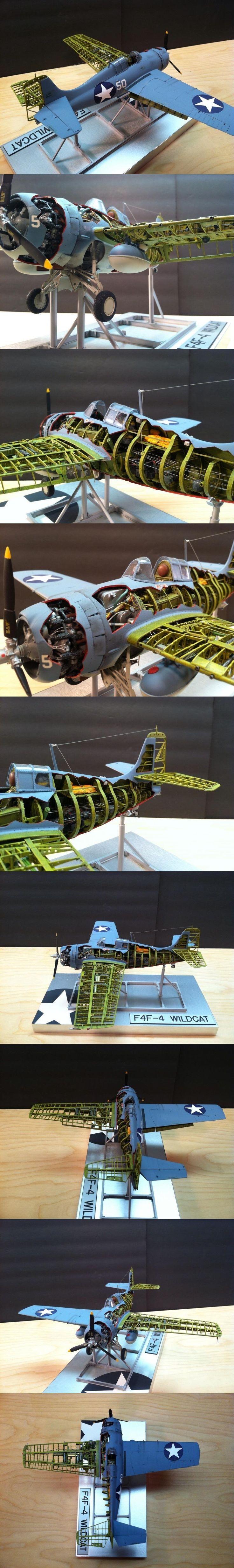 And amazing F4 Wildcat model.
