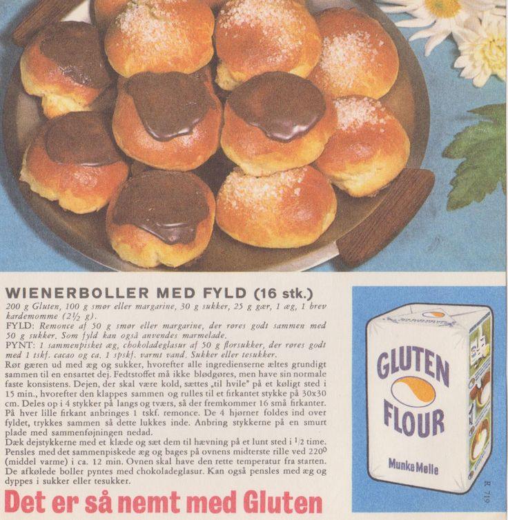 Wienerbolle med fyld