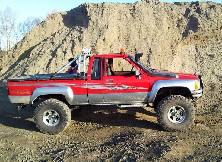 87 Toyota Pickup >> Toyota Hilux extra-cab 1985 | The Best Stuff In The World ...