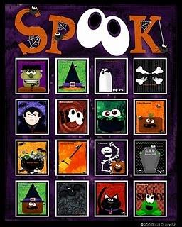 spook halloween bingo - Preschool Halloween Bingo