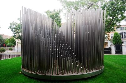 A sonic sculpture by Eusebio Sempere