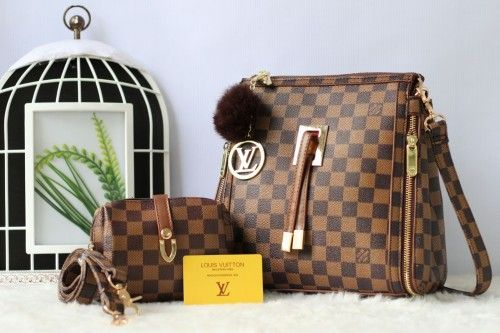 Trend Model Tas LV Travie 2Fungsi Set 2in1 K3890AR Terbaru - http://www.tasmode.com/tas-lv-travie-2fungsi-set-2in1-k3890ar-terbaru.html