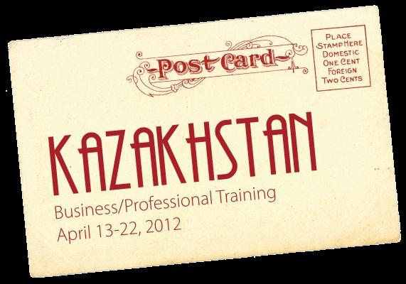 Kazakhstan  April 13-22, 2012