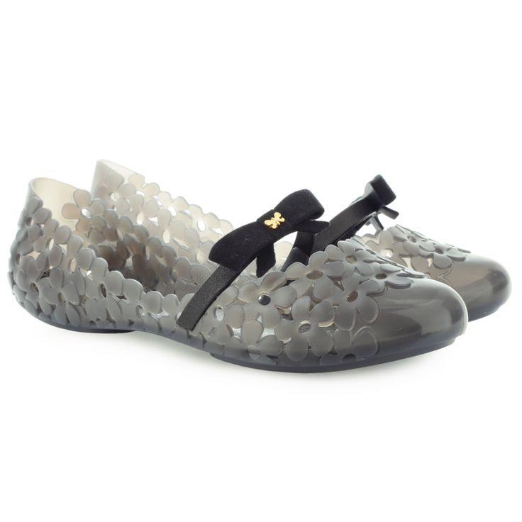 ZAXY 81609 GARDEN FEM BLACK 81609 90122  | Baleríny | Dámská obuv  v Riccardo.pl  -  Spona: Mokasíny, Výška podpatku: nízké < 3 cm, Tvar prstu: Kulatá, Svršek: Guma, Vnitřek boty: Guma, Podrážka: Gumová, Vložka: Gumová