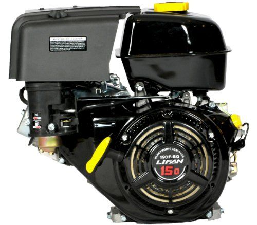 Lifan Lf190f-Bdq 15 Hp 420Cc 4-Stroke Ohv Industrial Grade Gas Engine With Electric Start And Universal Mounting Pattern, 2015 Amazon Top Rated Replacement Engines #Lawn&Patio