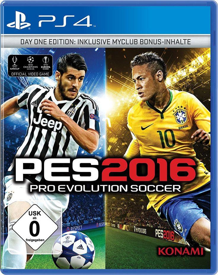 Bei dem Preis bei amazon kann man eigentlich nichts falsch machen:PES 2016 - Day 1 Edition  für 4,99€. Der geizhals.at Vergleichspreis liegt bei 12,99€.   #Amazon #Computerspiele #Fußball #Konsole #PES #Playstation #PS4 #Sony