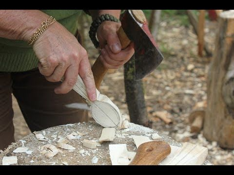 How To Carve A Spoon - Jill Swan - YouTube