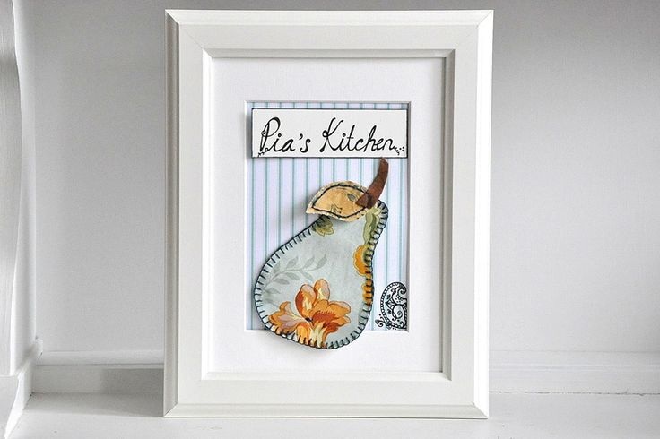 Free Shipping - Personalised Kitchen Wall Art -... from Peppercorns in my Pocket by DaWanda.com