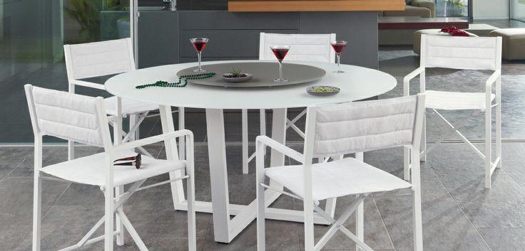 Outdoor Patio Ideas Round outdoor table