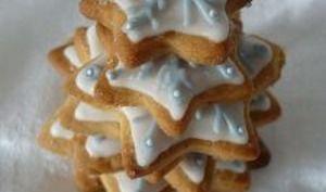 Sablés aux épices de Noël. La recette Sablés aux épices de Noël par Les mains dans la farine.