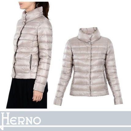 HERNO ダウンジャケット・コート HERNO スリムフィットで女性らしい美シルエット ダウン ベージュ