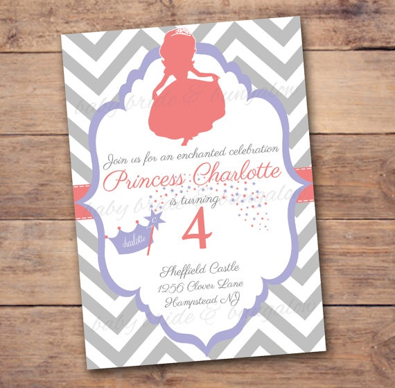 Sofia the First/ Princess Silhouette by BabyBrideandBungalow, $12.00
