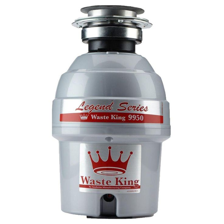 Waste King Legend Series 3/4 HP Continuous Feed Garbage Disposal
