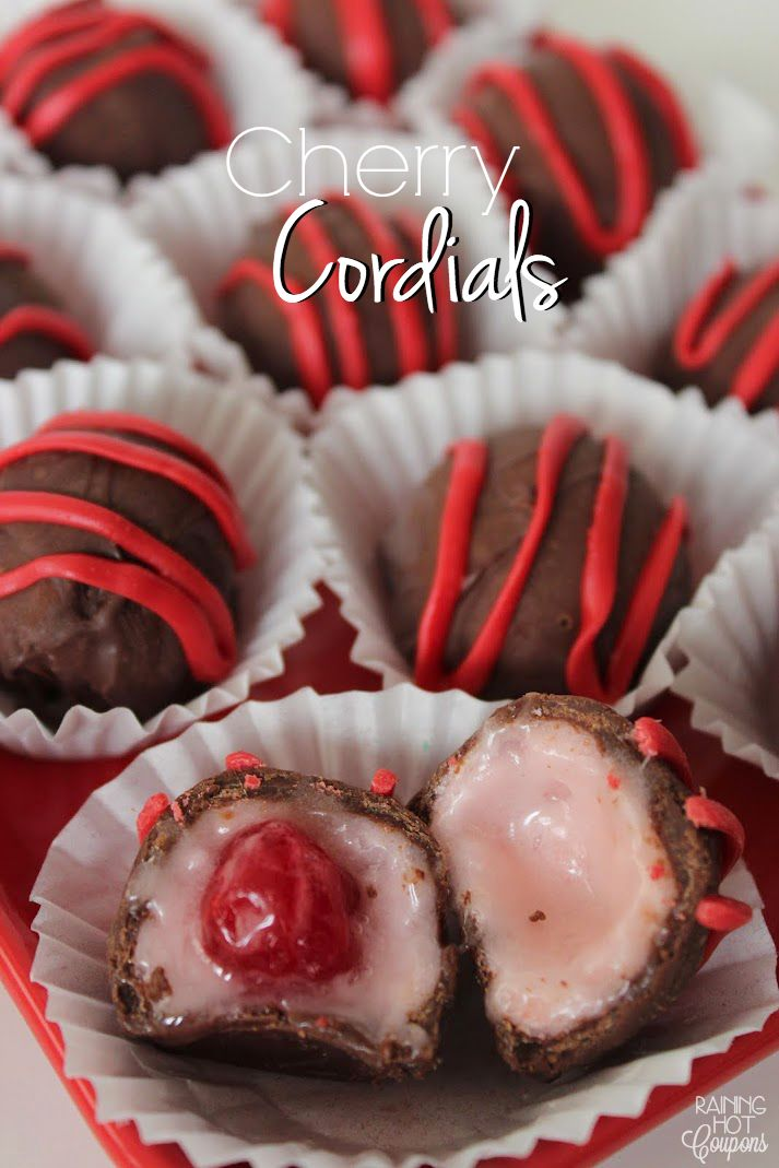Cherry Cordials INGREDIENTS: 10 oz Maraschino Cherries 2 tbsp softened Butter 1 tsp Corn Syrup 1 tbsp liquid from Mariaschino Cherry 1/2 tsp Invertase 1 1/2 cup Powdered Sugar 12 oz Semi Sweet Chocolate