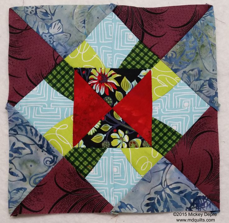 Autumn Beauty Block - Let's sew one together!