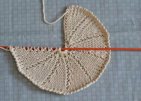 Tutorial - how to knit a circle